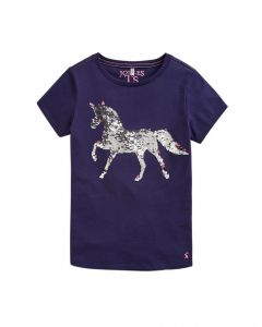 Joules Kids Astra Applique Jersey T-Shirt
