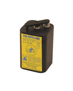 Rutland Electric Fencing 6 Volt Battery 25Ah