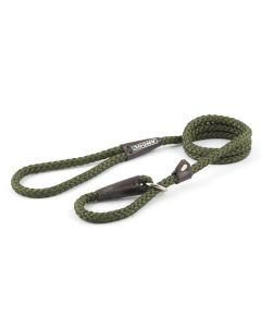 Ancol Rope Slip Dog Lead Green