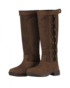 Dublin Ladies Pinnacle II Country Boots Chocolate