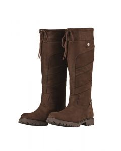 Dublin Ladies Kennet Country Boots Chocolate