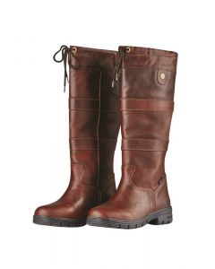 Dublin Ladies River Grain Country Boots Red Brown