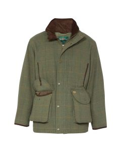Alan Paine Mens Combrook Tweed Shooting Field Coat Lovat