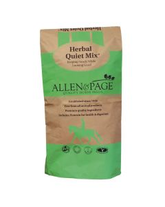 Allen & Page Herbal Quiet Mix Horse Feed 20Kg