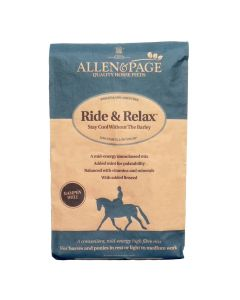 Allen & Page Ride And Relax Horse Feed 20Kg