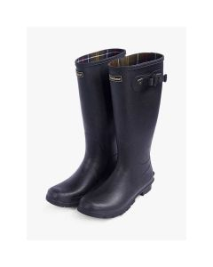 Barbour Mens Bede Wellington Boots Black - Cheshire, UK