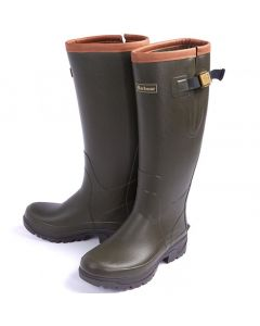 Barbour Mens Tempest Wellington Boots Olive