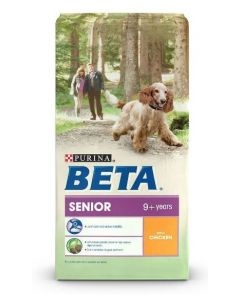 Beta Senior Chicken Dog Food 14kg