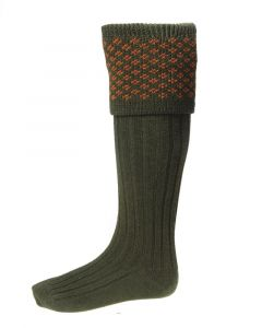 House of Cheviot Boughton Spruce Socks - Cheshire, UK