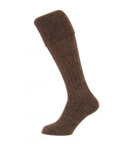 Hoggs of Fife Country Cable Sock