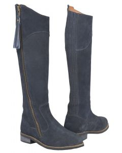 Toggi Ladies Campello Suede Country Boots Midnight Blue