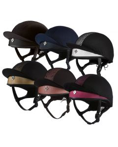 Charles Owen Pro II Plus Jockey Skull Riding Hat