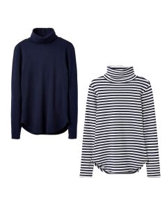 Joules Ladies Clarissa Roll Neck Jersey Top