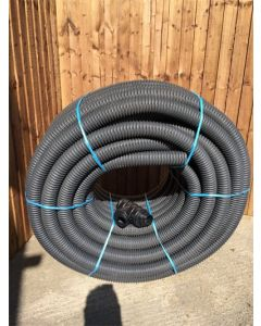 Cherry Pipes Perforated HDPE Land Drain 100mm