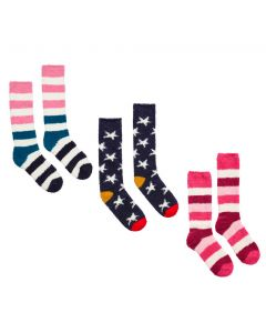 Joules Ladies Fabulously Fluffy Socks