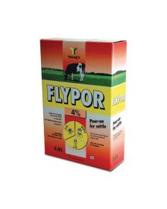 Flypor Pour-on Fly Control for Cattle 3 litre