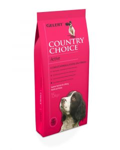 Gelert Country Choice Active Dog Food 15kg
