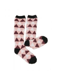 Horseware Ladies Softie Socks Garnet Triangle