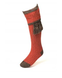 House of Cheviot Mens Kyle Autumn Glow/Highfell Socks