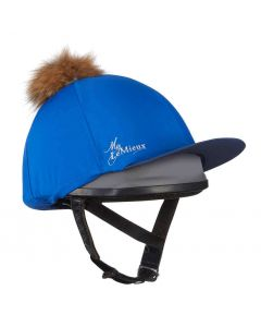 LeMieux Pom Pom Hat Silk Benetton Blue