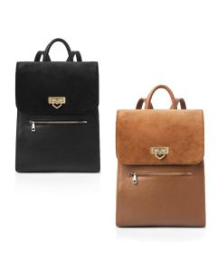 Fairfax & Favor Ladies Loxley Leather Suede Backpack