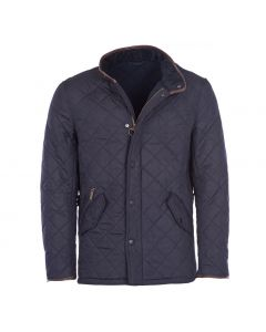 Barbour Mens Powell Quilted Jacket Navy