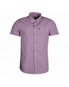 Barbour Mens Gingham Short Sleeved Tailored Fit Shirt - Cheshire, UK