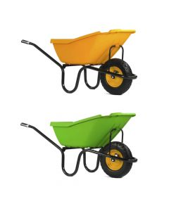 Haemmerlin Pick-Up 110 litre Wheelbarrow with Puncture Free Wheel - Cheshire, UK