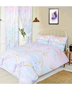 Platinum My Home Unicorn Duvet Set - Single - Chelford Farm Supplies