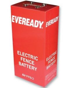Eveready Electric Fencing PP8/2 6V Battery