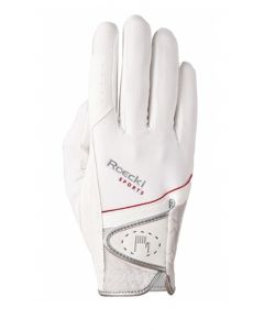 Roeckl London (Madrid) Riding Gloves White