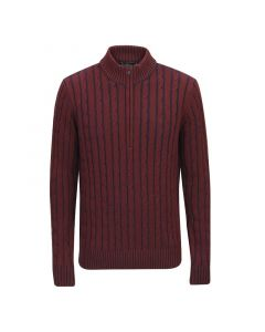Jack Murphy Mens Cody Sweater Truffle Red