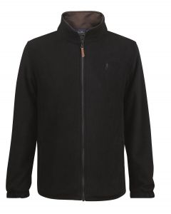 Jack Murphy Mens Stuart Waterproof Fleece Jacket Black