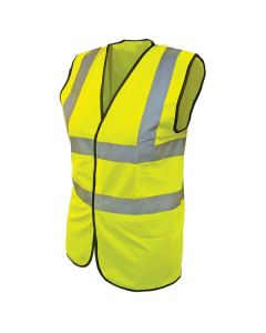 Scan Safety High Visibility Vest Yellow