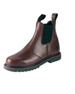 Hoggs of Fife Shire Dealer Boot Non Safety Dark Brown