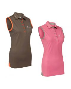 LeMieux Ladies Sleeveless Polo Shirt