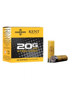 Gamebore Game and Wetland Super Steel 20 Gauge 24 Gram Plastic Shotgun Cartridge