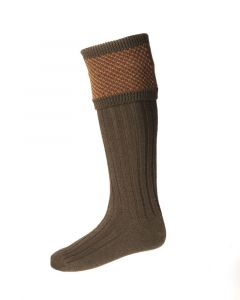 House of Cheviot Tayside Bracken Socks