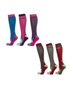 Toggi Ladies 3 Pack Blyton Socks - Chelford Farm Supplies