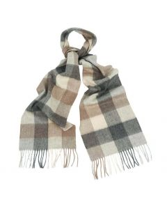 Barbour Large Tattersall Lambswool Scarf - Cheshire, UK