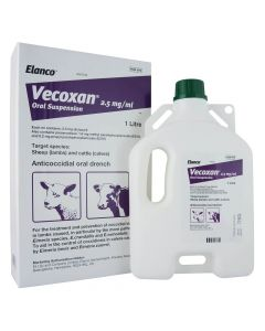 Vecoxan Oral Solution Lamb and Calf Wormer - Cheshire, UK