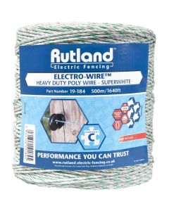 Rutland 6mm Super White Electro-Wire