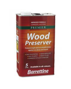 Barrettine Premier Wood Preserver Light Brown