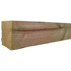 2.1m X 75mm X 75mm Sawn Fence Post