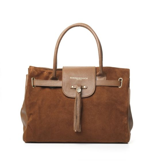 Fairfax & Favor Ladies Windsor Handbag Tan