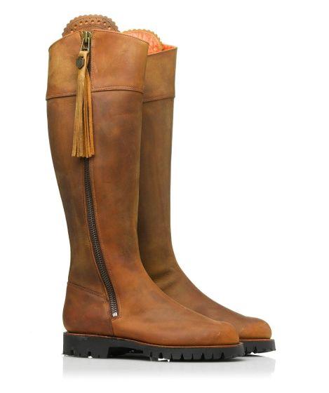 Fairfax & Favor Ladies Imperial Explorer Boot Chestnut