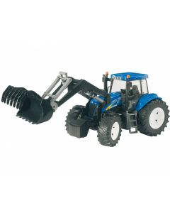 Bruder New Holland T8040 Tractor with Front Loader Toy