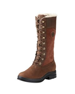 Ariat Ladies Wythburn H2O Insulated Country Boots Java + FREE SOCKS!