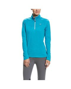 Ariat Ladies Conquest 1/2 Zip Top Atomic Blue