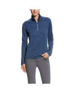 Ariat Ladies Conquest 1/2 Zip Top Dark Denim